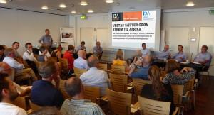 Foto fra 2 juni 2016 Vestas møde