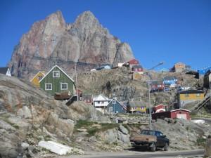 Uummannaq på Grønlands vestkyst